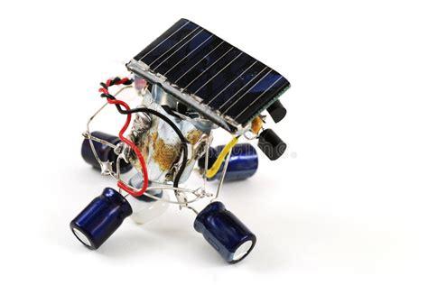solar energy robot royalty free stock photo image 7772105