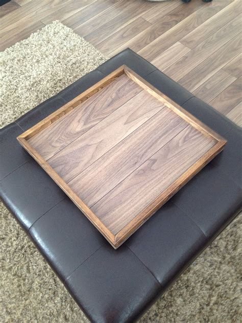 floor ottoman ottoman tray made from left over laminate floor for