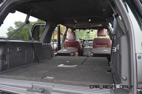 Ford Expedition 2015 Interior by 2015 Ford Expedition Platinum El Interior 22 187 Car Revs