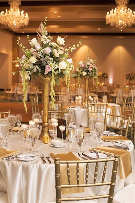 1000 ideas about gold wedding centerpieces on wedding centerpieces gold weddings