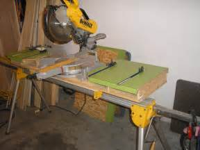 miter saw bench tools equipment contractor talk