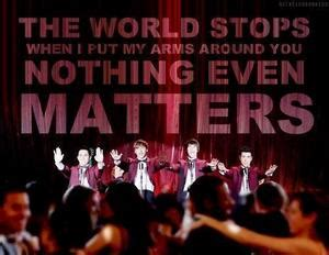 nothing even matters nothing even matters big time fanpop