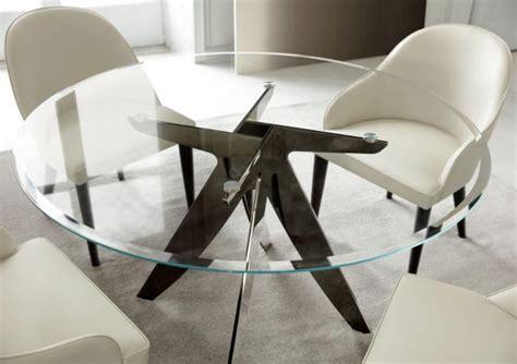 tavoli rotondi in cristallo tavolo rotondo in cristallo ring berto salotti