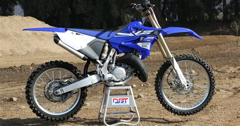 Gas Spontan Yamaha Yz125 Japan 2015 yamaha yz125 dirt bike test