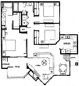 3 bedroom condo floor plans luxury condo floor plans at meridian condoresorts scottsdale arizona