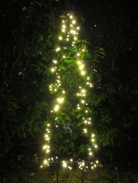 led tannenbaum beleuchtung garten im quadrat weihnachtsbeleuchtung au 223 en tannen