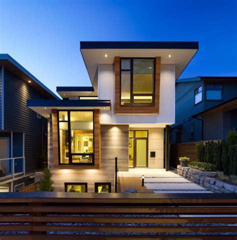 imagenes de casas fachadas de casas bonitas modernas de dos pisos simples