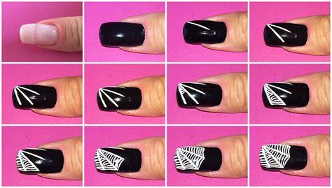 tutorial unghie nail art halloween nail art www romyspace it