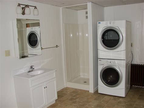cool white wash machine  dry machine   side