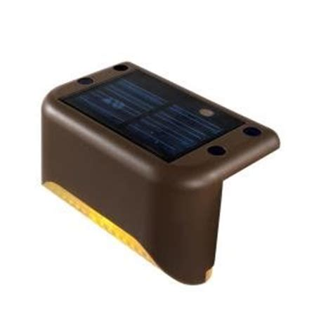 Solar Powered Step Lights Solar Led Mini Deck Step Lights Powered By