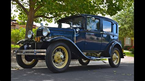 Towne Ford by Sold 1931 Model A Murray Town Sedan Ca