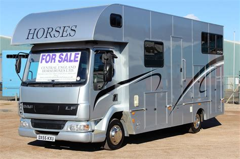 john rose 75t horsebox central england horseboxes
