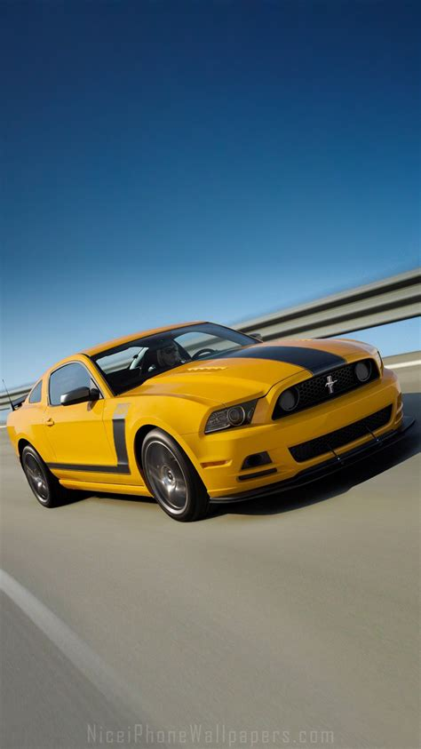 mustang wallpaper hd iphone ford mustang 2013 iphone 6 6 plus wallpaper and background