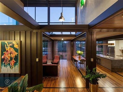 interior design shipping container home in brisbane queensland