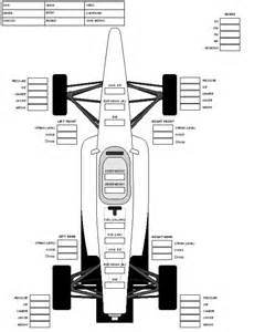 race car setup sheet template race blank setup sheets pictures inspirational pictures