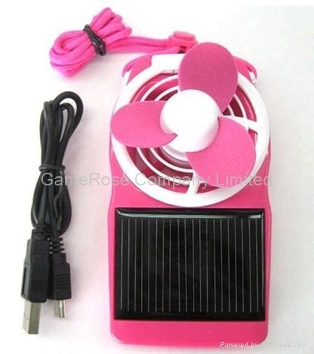 solar powered portable fan china products