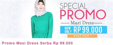 Promo Maxi pinkemma promo spesial maxi dress serba 99 ribu