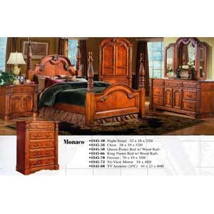 monaco bedroom set bedroom furniture monaco bedroom set 1145 wd nationalfurnishing com