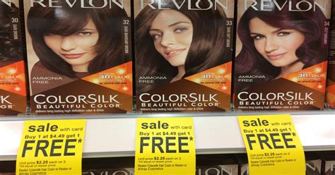 revlon hair color coupons revlon colorsilk at walgreens for 1 75 with coupon