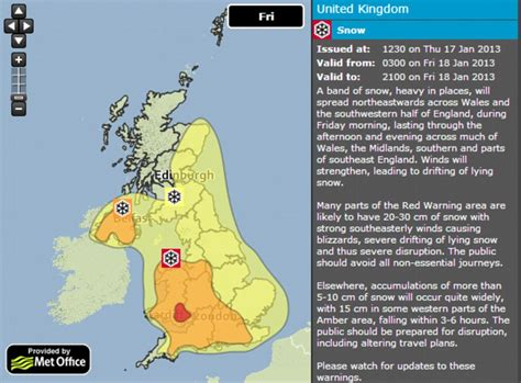 Will It Snow Tomorrow Met Office Weather Warning For | uk snow forecast airports and motorways closed as