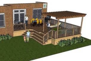 large deck plans thes deck plan is for a large l