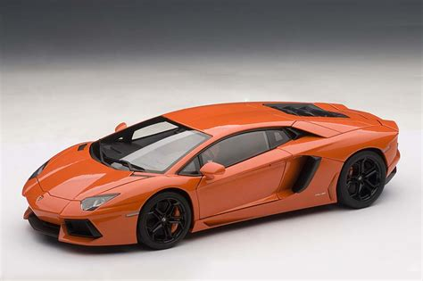 lamborghini aventador lp700 4 in orange 1 18 autoart die cast model lamborghini aventador lp700 4 arancio argos pearl orange 74665 die cast