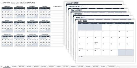 monthly calendar templates smartsheet