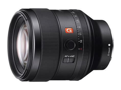 Sony Fe 85mm F 1 4 Gm Lens Hitam sony launches new g master brand of interchangeable lenses