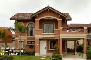 Camella Homes Design With Floor Plan by Emerald Model House Of Savannah Iloilo Camella Homes Bacolod