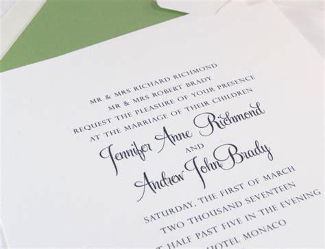 Wedding Invitations Denver