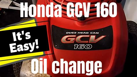 honda gcv oil change droughtrelieforg