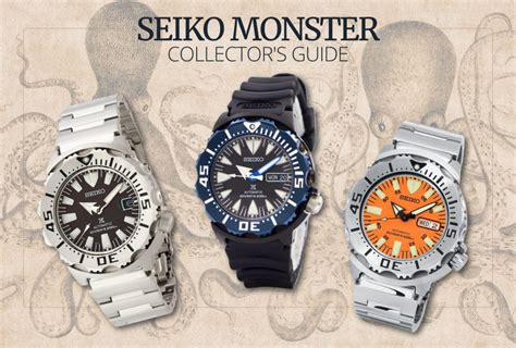 the ultimate seiko monster collector s guide 60clicks