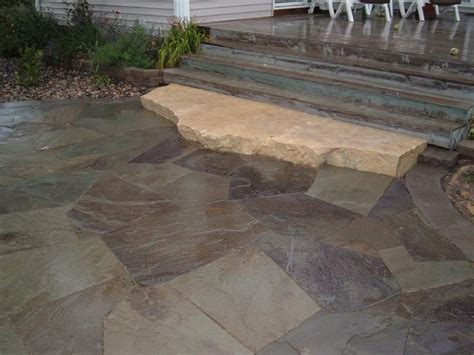 1000 images about flagstone on patio