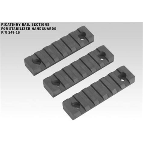 picatinny rail section picatinny rail sections for stabilizer handguards
