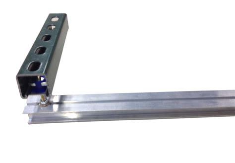 lightrail strut channel compatible rails