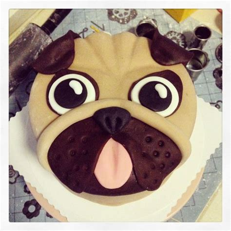 pug cake decorations best 25 pug cake ideas on pug birthday cake pug cupcakes and cakes