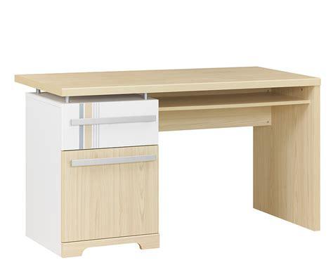 bureau enfant iléo blanc et bureau enfant bora blanc et bois