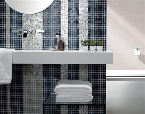 Bathroom Feature Tiles Ideas Banheiro Moderno Tom Azul Decoracao Baths Pinterest Bath