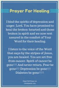 Words Of Comfort After Surgery Prayer For Healing Total And Complete Jesus