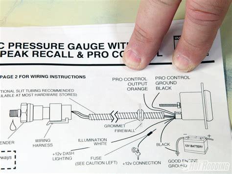 autometer c2 tach wiring diagram auto meter tach