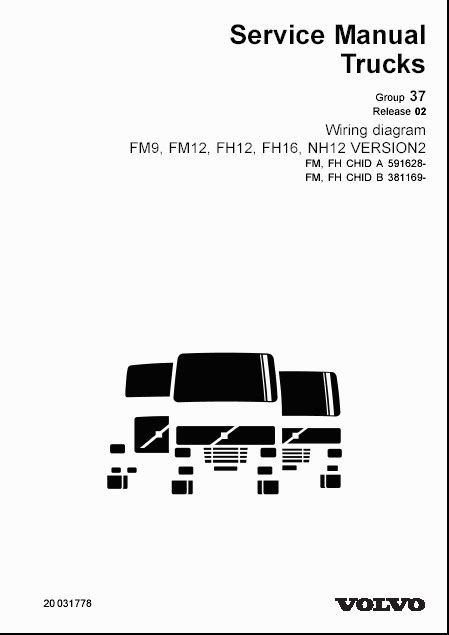 volvo wiring diagrams for fm9 fm12 fh12 fh16 nh12