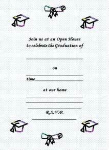 graduation invitations create your own wedding invitation sle