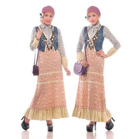 Abigail 2 Batik Ab2 01 model baju batik wanita muslim yang kekinian modelhijab