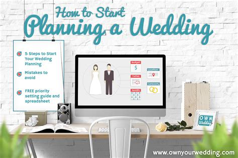 Wedding How To Start by How To Start Planning A Wedding Own Your Wedding