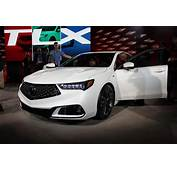 The 2018 Acura TLX Is Unveiled Ahead Of New York Auto