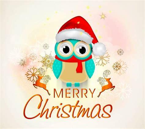 merry christmas wallpaper cute owl wallpaper hdwallpapercom