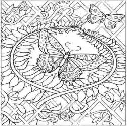challenging coloring pages challenging free printable coloring pages butterfly
