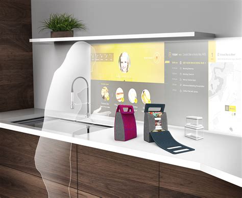 kitchen of the future whirlpool showcases the interactive kitchen of the future