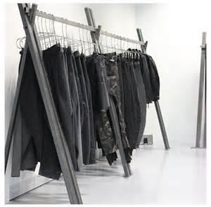 clothing rack showroom atelier