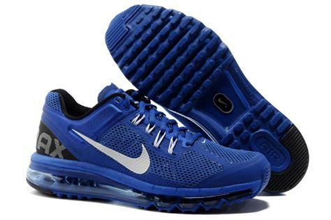 nike air max running shoes 2013 nike air max 2013 sports running shoes 554886 411 blue